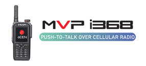 New Product: MVP i368 Push-to-talk over Cellular Radio