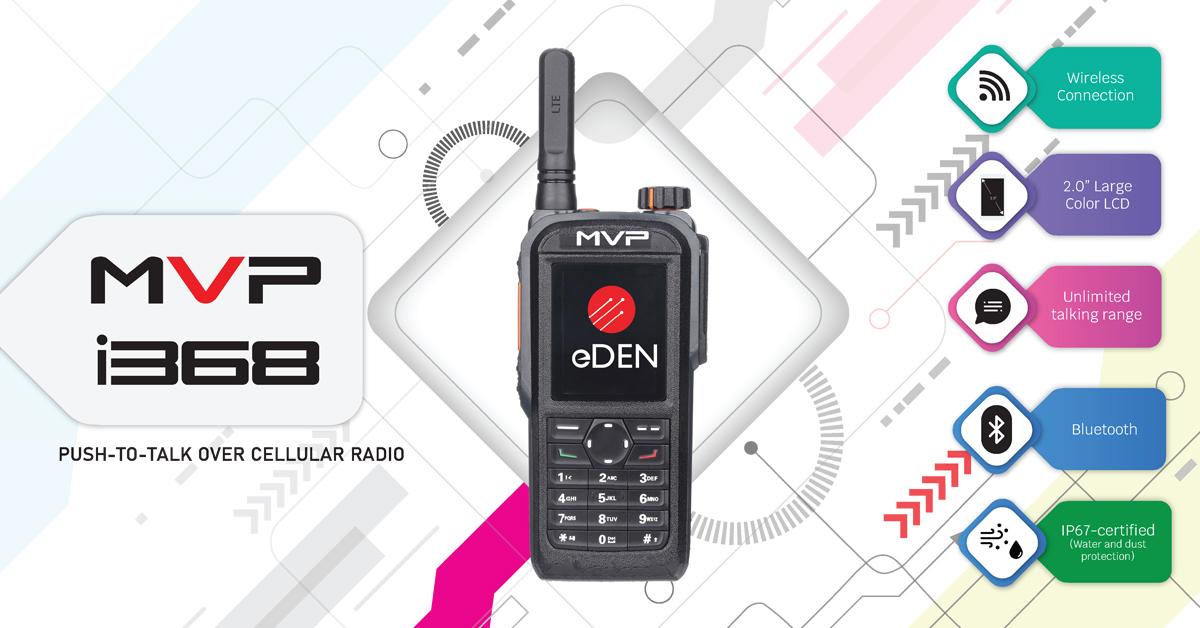 Mvp I368 Push To Talk Over Cellular Radio